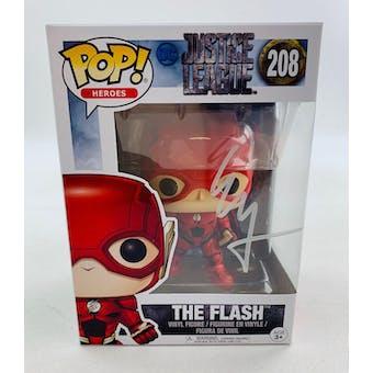 DC Justice League Flash Funko POP Autographed by Ezra Miller