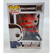 Halloween Michael Myers Funko POP Autographed by Tony Moran