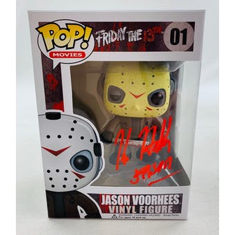 Friday the 13th Jason Voorhees Funko POP Autographed by Kane Hodder
