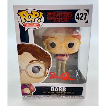 Stranger Things Barb Funko POP Autographed by Shannon Purser