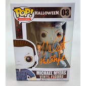Halloween Michael Myers The Shape Funko POP Autographed by Nick Castle