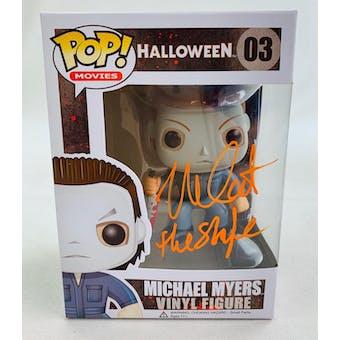 Halloween Michael Myers The Shape Funko POP Autographed by Nick Castle