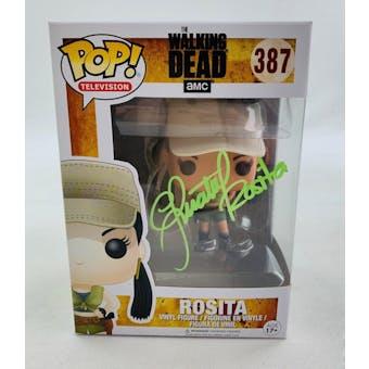 AMC Walking Dead Rosita Funko POP Autographed by Christian Serratos