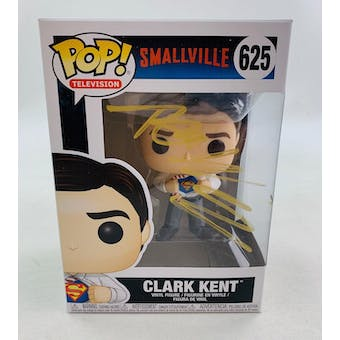 DC CW Smallville Clark Kent Funko POP Autographed by Tom Welling