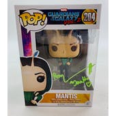 Marvel Guardians of the Galaxy Mantis Funko POP Autographed by Pom Klementieff
