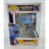 Marvel Guardians of the Galaxy Nebula Funko POP Autographed by Karen Gillan
