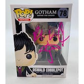 DC Gotham Oswald Cobblepot Funko POP Autographed by Robin Lord Taylor