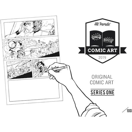 2019 Hit Parade Original Comic Book Art Edition 5-Box Series 1- DACW Live 5 Spot Random Hit Break #1