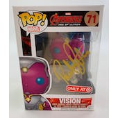 Marvel Avengers Vision Target Exclusive Funko POP Autographed by Paul Bettany