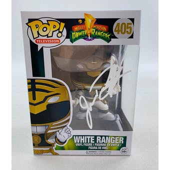 Power Rangers White Ranger Funko POP Autographed by Jason David Frank
