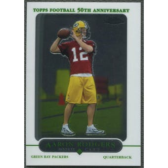 2005 Topps Chrome #190 Aaron Rodgers Rookie