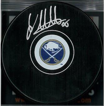 Linus Ullmark Autographed Buffalo Sabres Hockey Puck