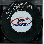 Jake McCabe Autographed Buffalo Sabres USA Hockey Puck