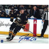 Jake McCabe Autographed Buffalo Sabres Blue Jersey 8x10