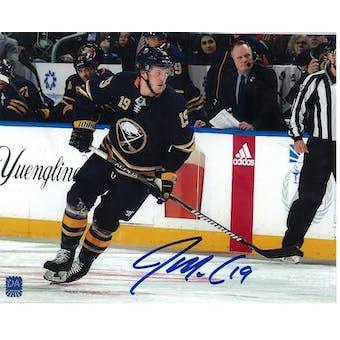 Jake McCabe Autographed Buffalo Sabres Blue Jersey 8x10