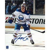 Jake McCabe Autographed Buffalo Sabres Third Jersey 8x10