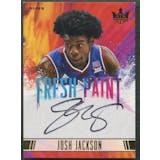 2017/18 Court Kings #4 Josh Jackson Fresh Paint II Rookie Auto #106/200