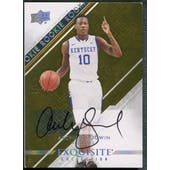2013/14 Exquisite Collection #R13 Archie Goodwin Yellow Rookie Auto #5/5