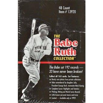 1992 Conlon Collection Babe Ruth Baseball Hobby Box