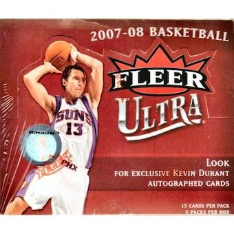 2007/08 Fleer Ultra Basketball Hobby Box