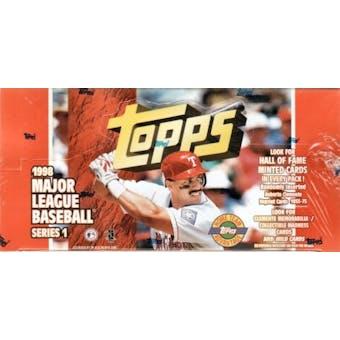 1998 Topps Series 1 Baseball Jumbo Box