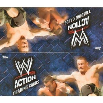 2007 Topps WWE Action Cards Wrestling Hobby Box