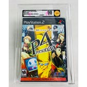 Sony PlayStation 2 (PS2) Persona 4 VGA 90 NM+/MT GOLD Black Label