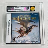 Nintendo DS Final Fantasy: The 4 Heroes of Light VGA 95 MINT GOLD SEAL