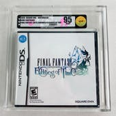 Nintendo DS Final Fantasy Crystal Chronicles: Echoes of Time VGA 95 MINT GOLD SEAL