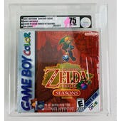 Nintendo Game Boy Color (GBC) Legend of Zelda Oracle of Seasons VGA 75 EX+/NM Foil Cover