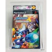 Sony PlayStation 2 (PS2) Mega Man X Collection VGA 85+ NM+ GOLD Black Label