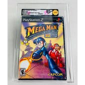Sony PlayStation 2 (PS2) Mega Man Anniversary Collection VGA 85+ NM+ GOLD Security Seal
