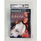 Sony PlayStation 2 (PS2) Fatal Frame VGA 85 NM+ Silver Seal