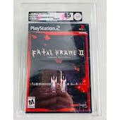 Sony PlayStation 2 (PS2) Fatal Frame II Crimson Butterfly VGA 85 NM+ Black Label