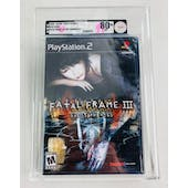 Sony PlayStation 2 (PS2) Fatal Frame III: The Tormented VGA 80+ NM Black Seal