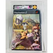 Sony PlayStation 2 (PS2) Aterlier Iris VGA 85+ NM+ GOLD Black Label