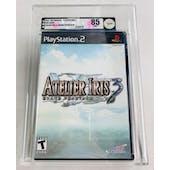 Sony PlayStation 2 (PS2) Aterlier Iris 3: Grand Phantasm VGA 85 NM+ Black Label