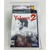 Sony PlayStation 2 (PS2) Yakuza 2 VGA 85+ NM+ GOLD Black Label