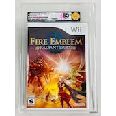 Nintendo Wii Fire Emblem Radiant Dawn VGA 85+ NM+ GOLD WHITE ESRB LOGO