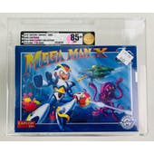 IAM8BIT Super Nintendo (SNES) Mega Man X 30th Anniversary 1 of 8,500 VGA 85+ NM+ GOLD SEAL