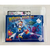 IAM8BIT Super Nintendo (SNES) Mega Man X 30th Anniversary 1 of 8,500 VGA  85 NM+ Silver Seal
