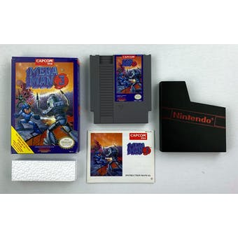 Nintendo (NES) Mega Man 3 Boxed Complete