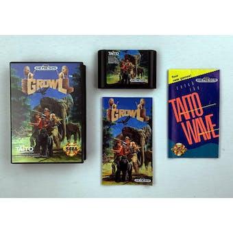 Sega Genesis Growl Boxed Complete