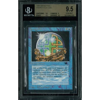 Magic the Gathering Antiquities Energy Flux BGS 9.5 (9.5, 9, 9.5, 9.5)