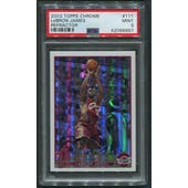 2003/04 Topps Chrome Basketball #111 LeBron James Refractor Rookie PSA 9 (MINT)