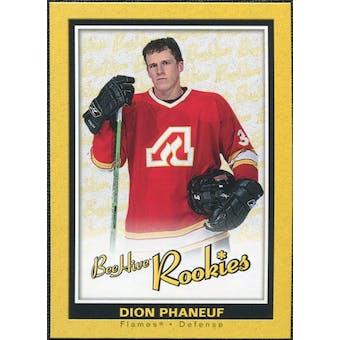 2005/06 Upper Deck Beehive Rookie #114 Dion Phaneuf RC
