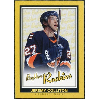 2005/06 Upper Deck Beehive Rookie #157 Jeremy Colliton RC
