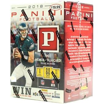 2018 Panini Football 11-Pack Blaster Box