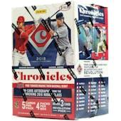 2018 Panini Chronicles Baseball 4-Pack Blaster Box