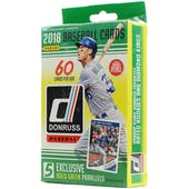 2018 Panini Donruss Baseball Hanger Box (Lot of 10)